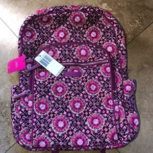 🎒NWT Vera Bradley iconic campus backpack 🎒